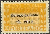 Portuguese India 1945 Portuguese Colonial Empire (Postage Due Stamps) c