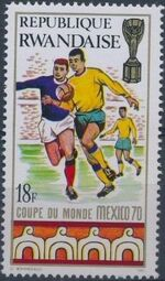 Rwanda 1970 Football World Cup - Mexico f