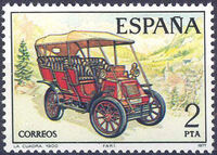 Spain 1977 Spanish Pioneer Automobiles a