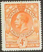 Swaziland 1933 George V e