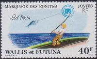 Wallis and Futuna 1979 Tuna tagging by South Pacific Commission e