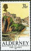 Alderney 1986 Alderney Forts c