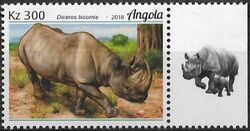 Angola 2018 Wildlife of Angola - Rhinos c
