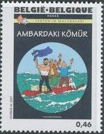 Belgium 2007 Tintin book covers translated t