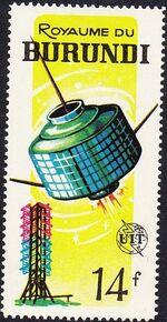 Burundi 1965 Centenary of the ITU g