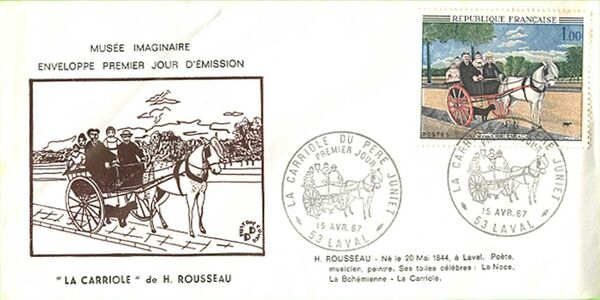 France 1967 French Art (1967-1) FDCd