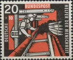 Germany, Federal Republic 1957 For Independent Welfare Organizations (Coal Mining) c