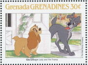 Grenada Grenadines 1988 The Disney Animal Stories in Postage Stamps 5b