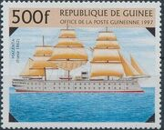 Guinea 1997 19th Century Warships f