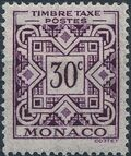 Monaco 1946 Postage Due Stamps b