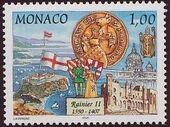 Monaco 1997 700th Anniversary of the Grimaldi Dynasty - 1st Serie d