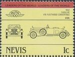 Nevis 1984 Leaders of the World - Auto 100 (1st Group) i