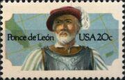 United States of America 1982 Ponce de Leon a