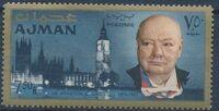 Ajman 1966 Winston Churchill h