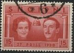 Albania 1938 Wedding of King Zog I e
