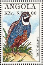 Angola 1996 Hunting Birds c
