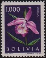 Bolivia 1962 Flowers d