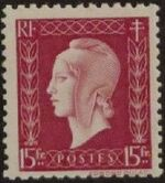 France 1945 Marianne de Dulac (2nd Issue) q