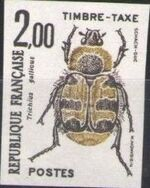 France 1982 Insects - Postage Due Stamps (1st Issue) k