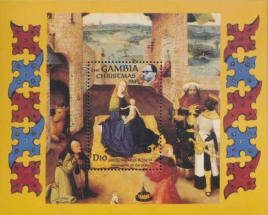Gambia 1985 Christmas SSa