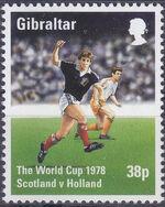 Gibraltar 1998 Football World Cup - France c