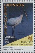 Grenada Grenadines 1995 100th Anniversary of Sierra Club - Endangered Species p