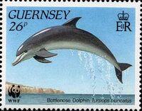 Guernsey 1990 WWF Marine Life b