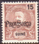 Guinea, Portuguese 1902 D. Carlos I Overprint a