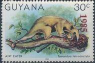 Guyana 1985 Wildlife (Overprinted 1985) h