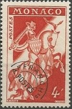 Monaco 1954 Knight a