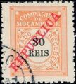 """Mozambique Company 1911 Postage Due Stamps Overprinted """"REPUBLICA"""" d.jpg"""