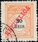 "Mozambique Company 1911 Postage Due Stamps Overprinted ""REPUBLICA"" d"