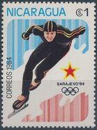 Nicaragua 1984 Winter Olympics - Sarajevo' 84 c