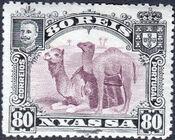 Nyassa Company 1901 D. Carlos I (Giraffe and Camels) i