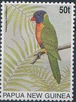 Papua New Guinea 1996 Parrots b