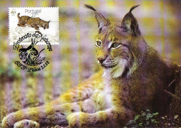Portugal 1988 WWF Iberian Lynx (Lynx pardina) MCa