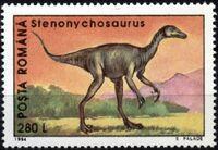 Romania 1994 Dinosaurs d