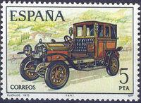 Spain 1977 Spanish Pioneer Automobiles c
