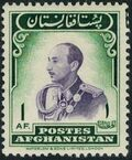 Afghanistan 1951 Monuments and King Zahir Shah (I) o