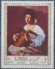 Ajman 1968 Paintings i