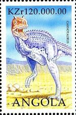 Angola 1998 Prehistoric Animals (2nd Group) f