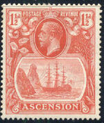 Ascension 1924 Seal of the Colony c