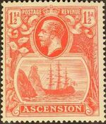 Ascension 1924 Seal of the Colony cc
