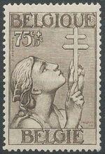 Belgium 1933 Anti Tuberculosis - Lorraine Cross c