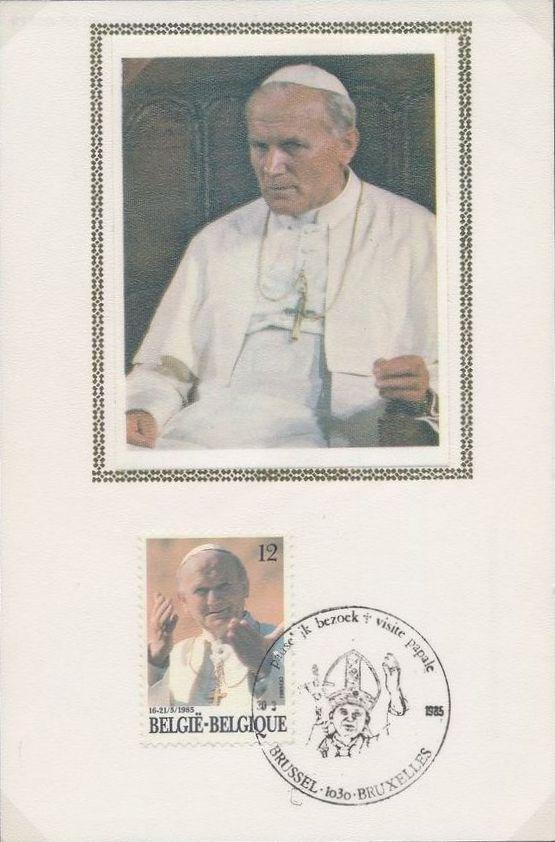 Belgium 1985 Visit of Pope John Paul II MCa