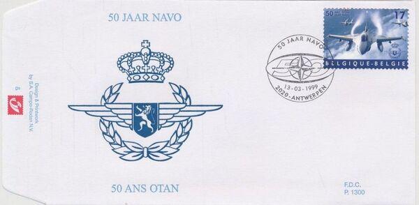 Belgium 1999 50th Anniversary of NATO FDCb