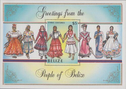 Belize 1986 Women in Folk Costumes SSa
