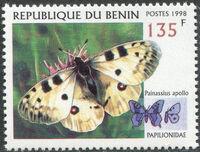 Benin 1998 Butterflies a
