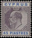 Cyprus 1904 King Edward VII h