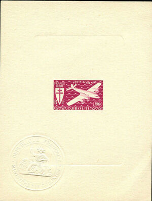 French Somali Coast 1941 Airmail n